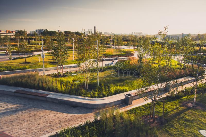 Desarrollo de parques urbanos