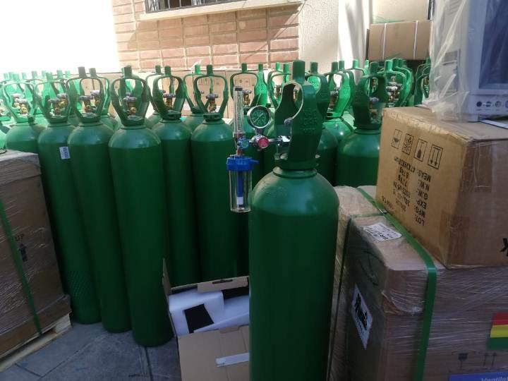 Pruebas y seguridad de cilindros de gas