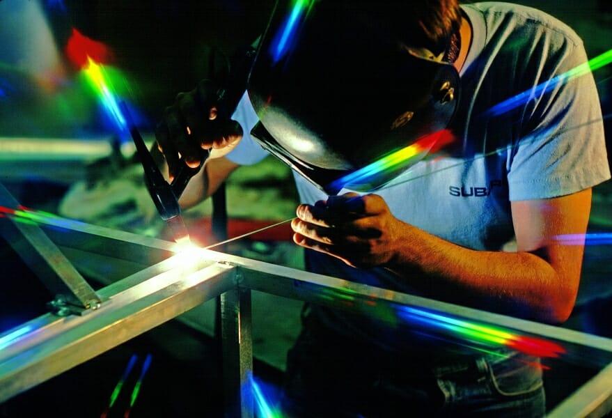 Tipos y usos de material para unir metales